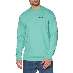 Sweat Patagonia P-6 Label Uprisal Crew - Light Beryl Green