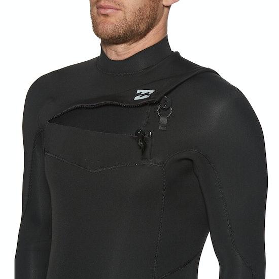 Billabong 2mm Absolute Chest Zip Long Sleeve Shorty Wetsuit