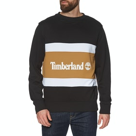 Свитер Timberland Cut & Sew Colorblock Crew - Black-wheat Boot