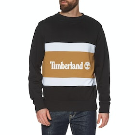 Sweat Timberland Cut & Sew Colorblock Crew - Black-wheat Boot