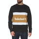 Timberland Cut & Sew Colorblock Crew Sweater
