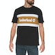 Timberland Cut & Sew Colorblock Short Sleeve T-Shirt