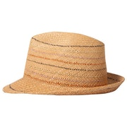 Paul Smith Panama Trilby Stab Stitch Hat