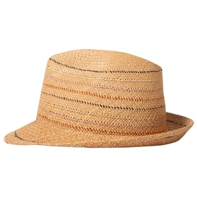 Sombrero Paul Smith Panama Trilby Stab Stitch - Tan
