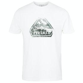 Koszulka z krótkim rękawem Pyrenex Larriou - White