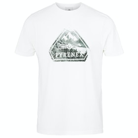 T-Shirt a Manica Corta Pyrenex Larriou - White