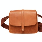 Joules Wimbourne Suede Women's Saddle Bag