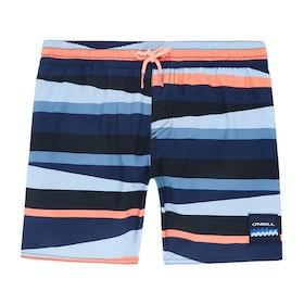 Shorts de natación Boys O'Neill Horizon - Blue Aop