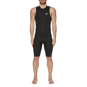 Billabong 2mm Absolute Short John Wetsuit - Black