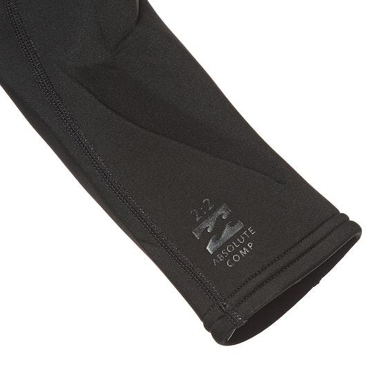 Billabong 2mm Absolute Chest Zip Shorty Wetsuit
