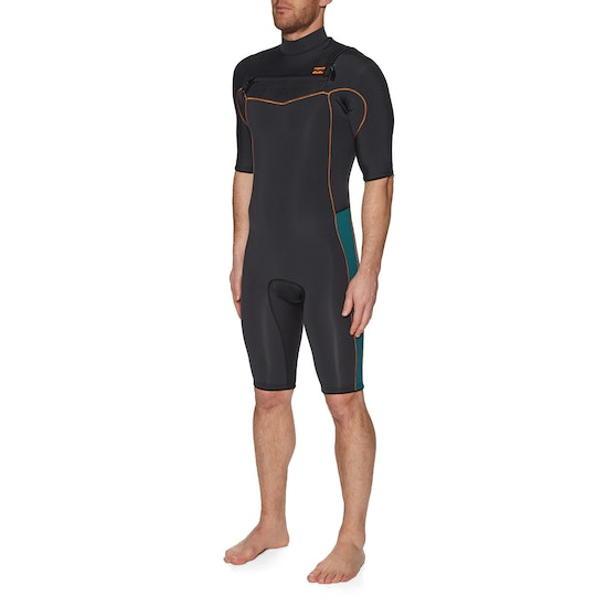 Billabong 2mm Revolution Chest Zip Shorty Wetsuit
