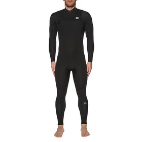 Billabong 3/2mm Furnace Absolute Chest Zip Wetsuit - Black