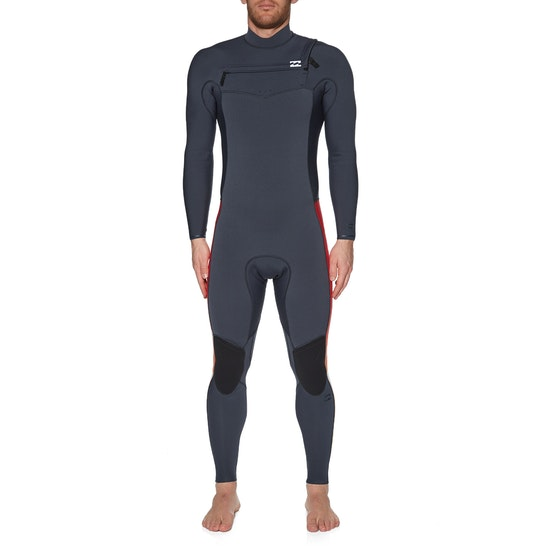 Billabong 3/2mm Furnace Revolution Pro Chest Zip Wetsuit