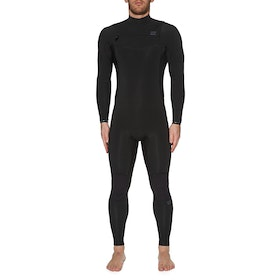 Billabong 3/2mm Furnace Revolution Chest Zip Wetsuit - Black