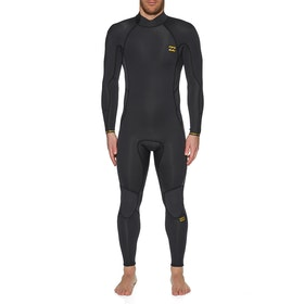 Billabong 4/3mm Furnace Absolute Back Zip Wetsuit - Antique Black