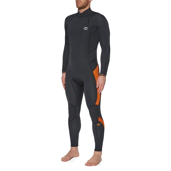Billabong 4/3 Furnace Absolute Back Zip Wetsuit