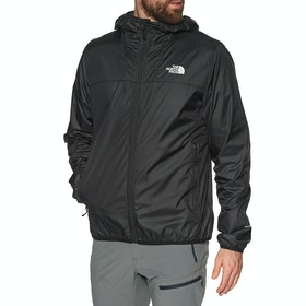 North Face Cyclone 2 Hooded , Vindtett jakke - TNF Black TNF White