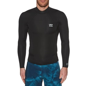 Billabong 2mm Absolute Comp Long Sleeve Wetsuit Jacket - Black