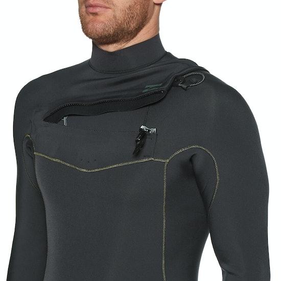 Billabong 2mm Revolution Chest Zip Long Sleeve Shorty Wetsuit