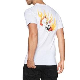 Vans Rowan Zorilla Skull Short Sleeve T-Shirt - White