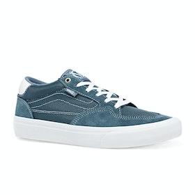 Vans Rowan Pro Shoes - Mirage Blue White