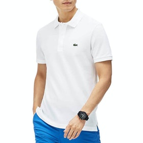 Lacoste Slim Fit Herren Polo-Shirt - White