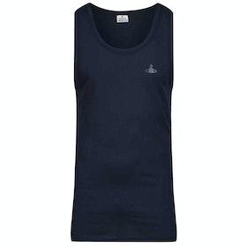 Abbigliamento da Casa Vivienne Westwood Logo - Navy Blue