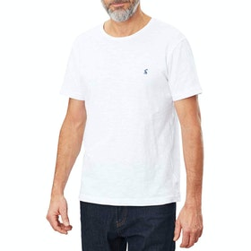Joules Denton Short Sleeve T-Shirt - White