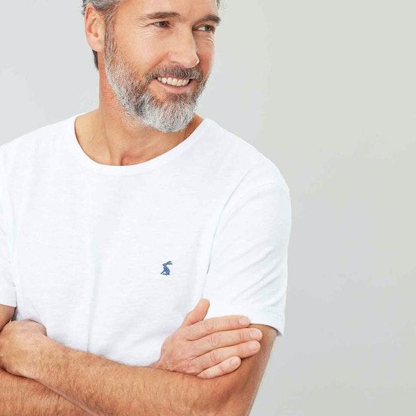 T-Shirt a Manica Corta Uomo Joules Denton