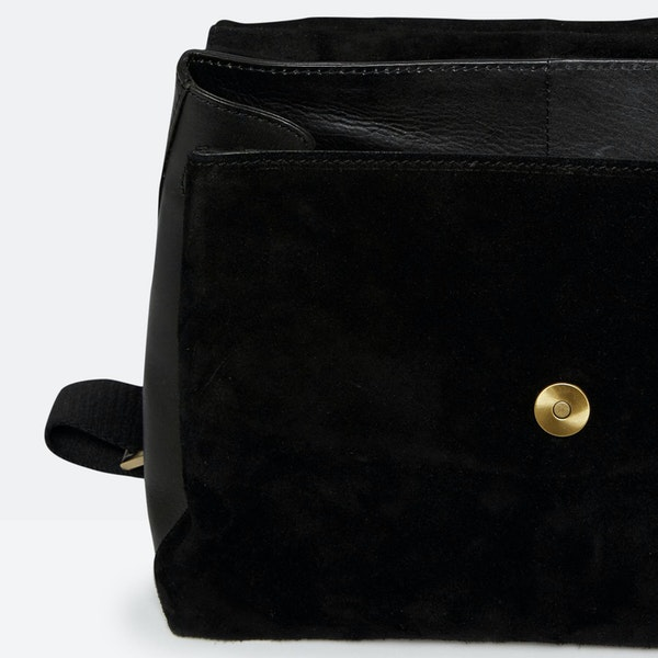 Joules Molton Suede Dame Håndtaske
