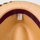 Paul Smith Embroidered Brim Trilby Klobouk