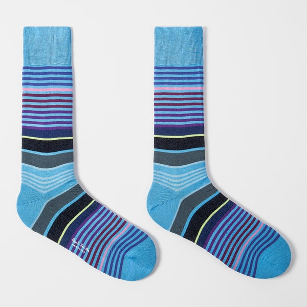 Paul Smith Hugh Stripe Fashion Socks