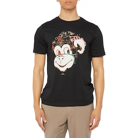 Paul Smith Monkey Short Sleeve T-Shirt - Black