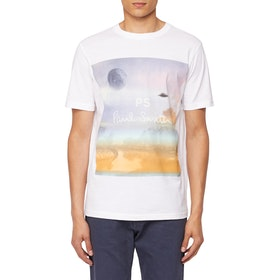Paul Smith Utopia Short Sleeve T-Shirt - White