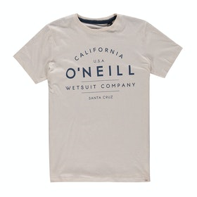 O'Neill O'neill Boys Short Sleeve T-Shirt - Powder White