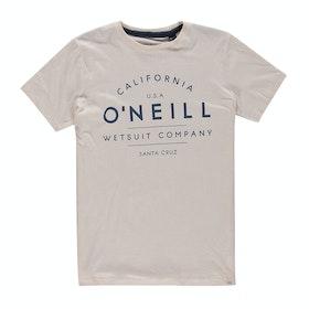 T-Shirt a Manica Corta O'Neill O'neill - Powder White