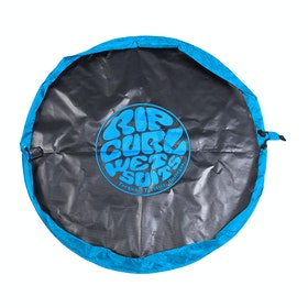 Rip Curl Wettie Change Mat - Black/Blue