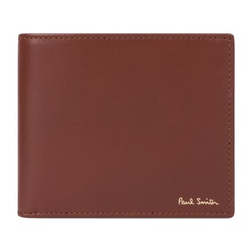 Paul Smith Signature Stripe Interior Billfold Wallet - Chocolate