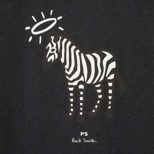 Paul Smith Halo Zebra Short Sleeve T-Shirt