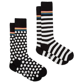 Paul Smith 2 Pack Odd Socks - Multicoloured