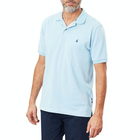Joules Woody Classic Polo Shirt - Light Blue