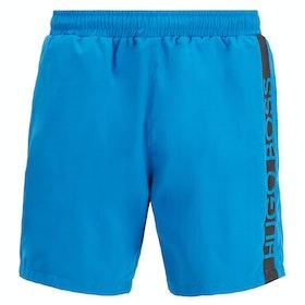 BOSS Dolphin Badeshorts - Blue