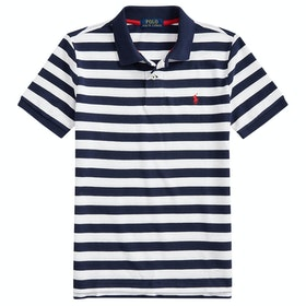 Polo Ralph Lauren Cotton Mesh Boy's Polo Shirt - White