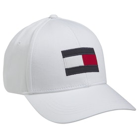 Cappello Tommy Hilfiger Big Flag - White