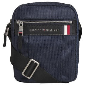Tommy Hilfiger Elevated Nylon Mini Herren Messenger-Tasche - Sky Captain