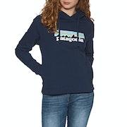 Pullover à Capuche Femme Patagonia Pastel P-6 Logo Uprisal
