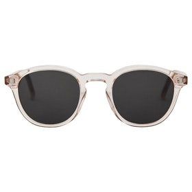 Monokel Nelson Sunglasses - Champagne Solid Grey Lens