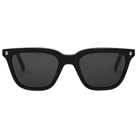 Monokel Robotnik Sunglasses - Black Solid Grey