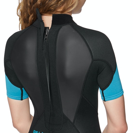 Billabong Launch 2mm Back Zip Shorty Womens Wetsuit