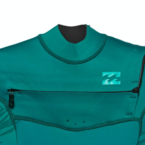 Billabong 2mm Synergy Chest Zip Shorty Womens Wetsuit